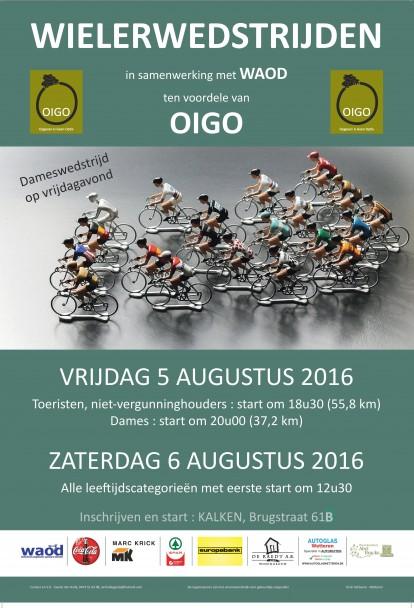 Koersen voor Oigo affiche 2016